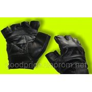Перчатки Без пальцев Кожа фото