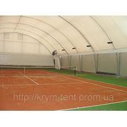 Накрытие для теннисных кортов фото