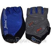 Перчатки Sprinter для занятий фитнесом и езды на велосипеде (р-ры:M,L,XL.) фото