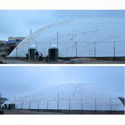 Воздухоопорное сооружение 40 на 47 для спортивного зала. фото