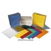 Салфетки бумажные 400 листов цветные 1 слой фото