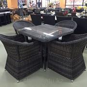 Комплект мебели , стол+4кресла фото