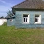 Земельный участок + бревенчатый дом фото