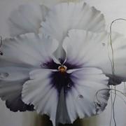 Картина маслом 16 виола 100х130 фото