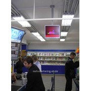 Размещение видеорекламы в супермаркетах фото