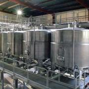 Емкость для хранения сыпучих материалов для нефтехимической промышленности V= 4 м3, Р- атмосферное фото