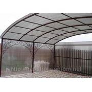 Изготовление и установка металлоконструкций - фермы, ворота,заборы ,двери,оградки. фото