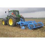 Предоставляем услуги по обработке почвы трактором John Deere 8400 +Дисковый культиватор Lemken Rubin фото