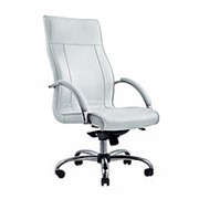 Кресло для руководителя на хромированном каркасе Палермо Эко СН фото