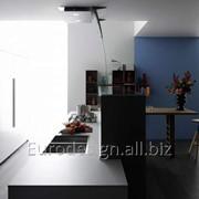 Современная кухня Ebano Artematica Uniline , Bianco Ghiaccio фото