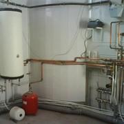 Монтаж отопление водоснабжение канализация теплый пол + електро полы. Загородного дома ( коттеджа ) квартиры. фото