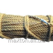 Канат джутовый Ø 8 мм х 50 метров (Украина) фото