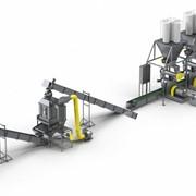 Линия по производству топливных гранул из отходов столярных производств, ТП фото
