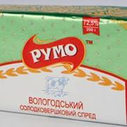 Спред сладкосливочный «Вологодский» фасованный (Пачка по 200гр, упаковано в ящики по 4кг 8кг, Полиамидна оболочка от 0,3 кг до 0,7 кг) ОПТ фото