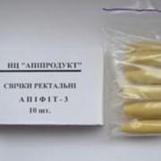 """Свечи """"Апифит 3"""" с прополисом, цветочной пыльцой, мед фото"""