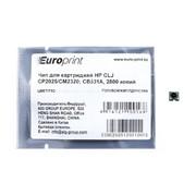 CB531A EuroPrint чип для картриджа HP CLJ CP2025, CM2320, Голубой фото