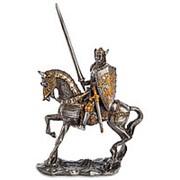 Статуэтка Рыцарь/Олово 8х12,5х3,5см. арт.WS-804 Veronese фото