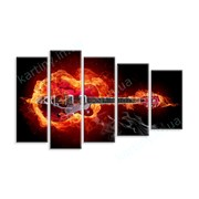 Картина Огненная гитара фото