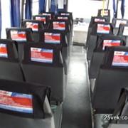 Реклама внутри междугородних автобусов маршрутных такси фото