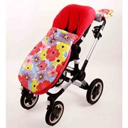 Футмуф расцветки Фиалка в прогулочную коляску Goforkid фото