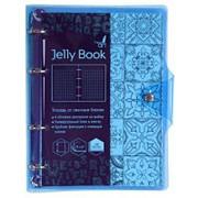 Тетрадь со сменным бл. 120л,кл,А5,гибк пласт Jelly Book Голубой ПБП1204450 фото
