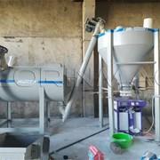 Мини-завод/Миксер для производства сухих смесей  фото