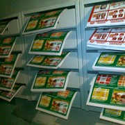 Раздача рекламной-печатной продукции фото