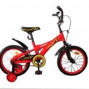 Велосипед двухколёсный 16K147 - Red/вlack фото