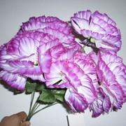 Цветок искусственный Гвоздика, 7 голов фото