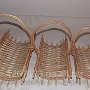 Плетеный набор корзин из лозы фото