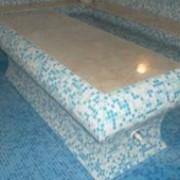 Стол массажный из пенополистирола для хамама армированный фото