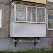 Балкон пристройка, расширение, укрепление, ремонт фото