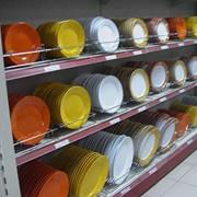 Тарелки из керамики. фото
