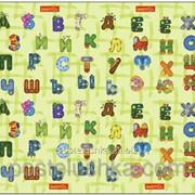 Коврик в детскую комнату BABYPOL Забавный алфавит 180*200 см фото