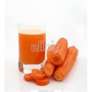 Сок морковный натуральный