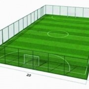 Футбольное поле 40х25 фото