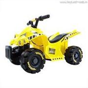 """Электроквадроцикл Zilmer """"Рейнджер-1204В"""" (70х40х45 см, аккум. бат. 6V/4,5AH, мотор 22W, нагрузка 30 кг, жёлтый) фото"""