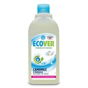 Экологическая жидкость для мытья посуды с ромашкой и молочной сывороткой ECOVER 500 мл фото