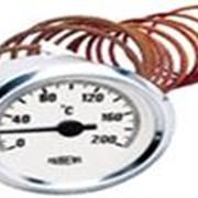 Термометр d60мм, 120˚С, капиляр 1м фото