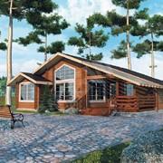 Проект дома из дерева Д0069 фото