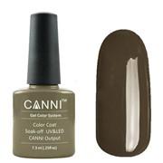 Canni, Гель-лак №169 (серо-оливковый, эмаль) 7.3мл ххх фото