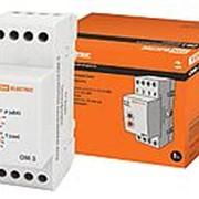 Ограничитель мощности ОМ-3 16А, 230В, 0,5-5кВА на DIN-рейку TDM фото