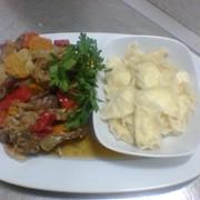 Национальная кухня в ресторане Bachus Dava фото