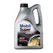 Полусинтетическое моторное масло Mobil Super 2000 10W-40 5л фото