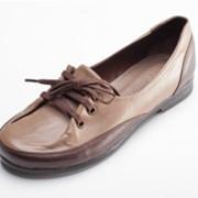 Туфли женские кожанные фото