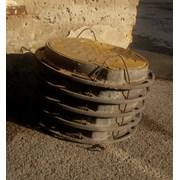 Люки чугунные Казахтелеком с шарниром и с замком Тип Т ГОСТ 8591-76 чугунный фото