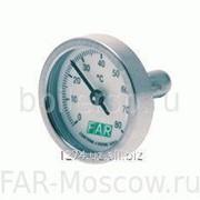 Термометр биметалический, 0-120°C, артикул FA 2653 120 фото