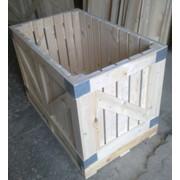 Контейнер деревянный для хранения и транспортировки плодовоовощной продукции фото