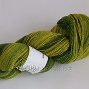 Пряжа Кауни артистик 400 Green Yellow фото