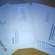 Упаковка в конверты фото